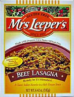 Mrs Leeper's Beef Lasagna